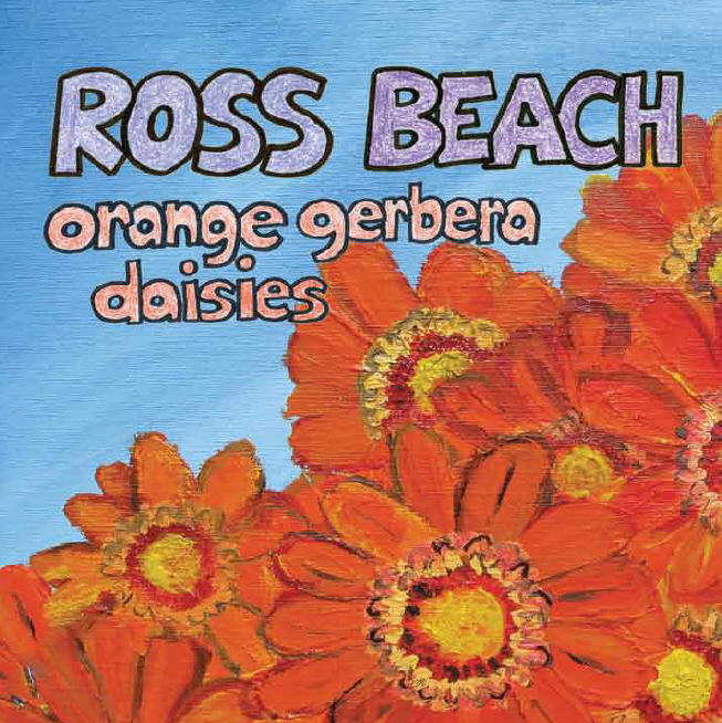 Ross Beach: Orange Gerbera Daisies